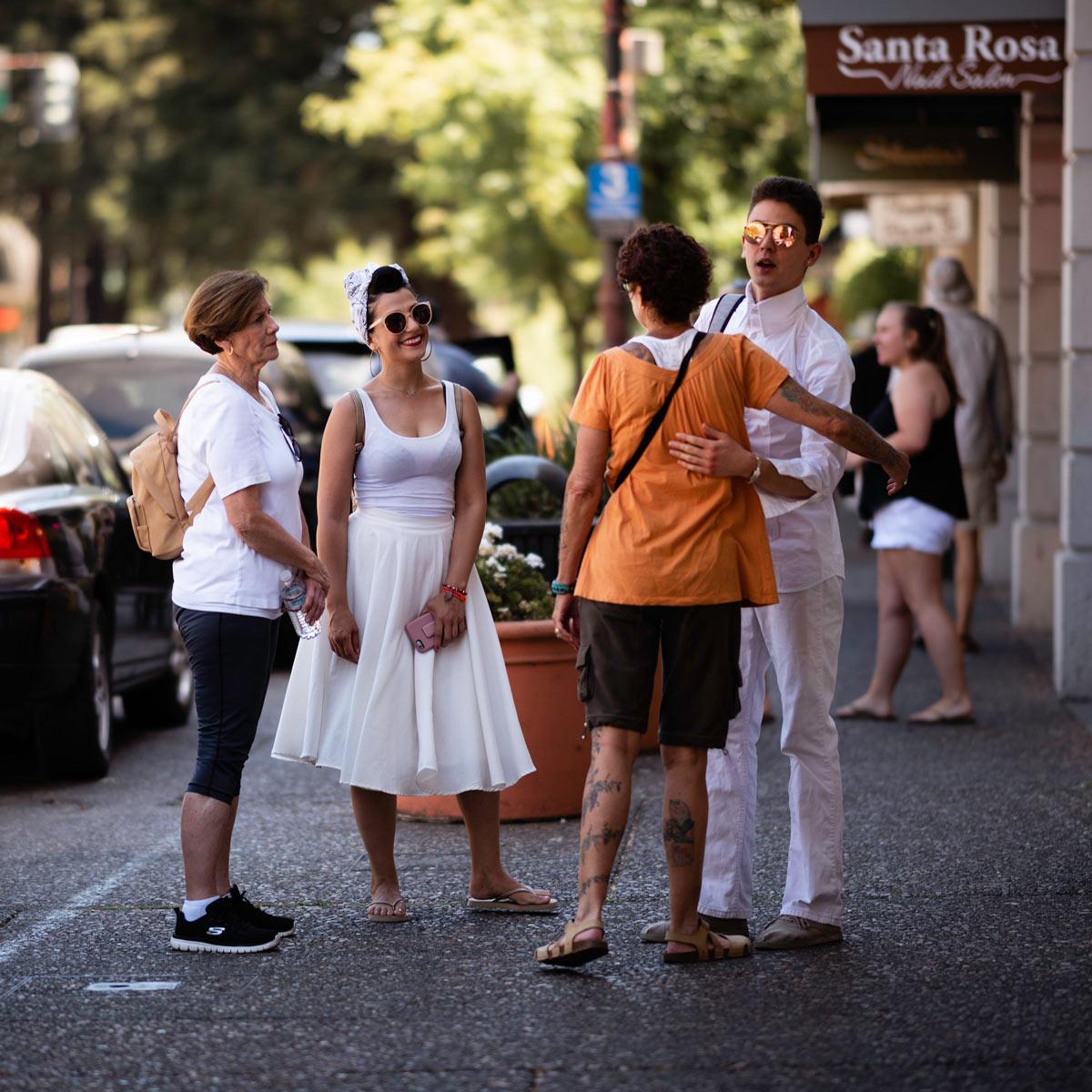 Streets of Santa Rosa