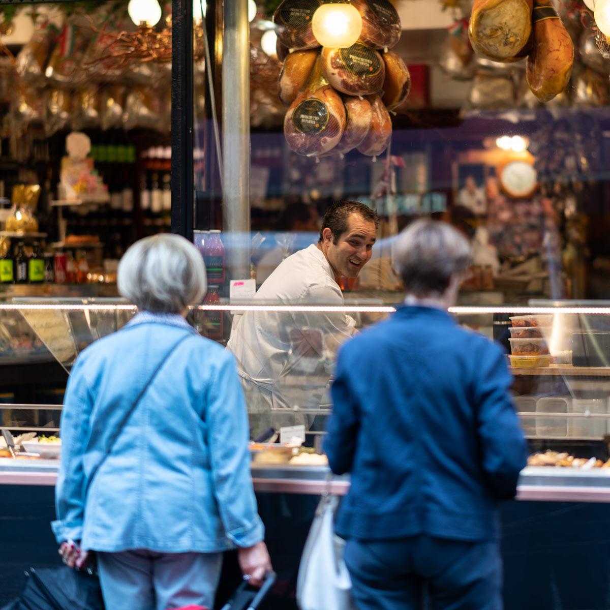 Butcher Shop, Rue Montmartre Paris, France