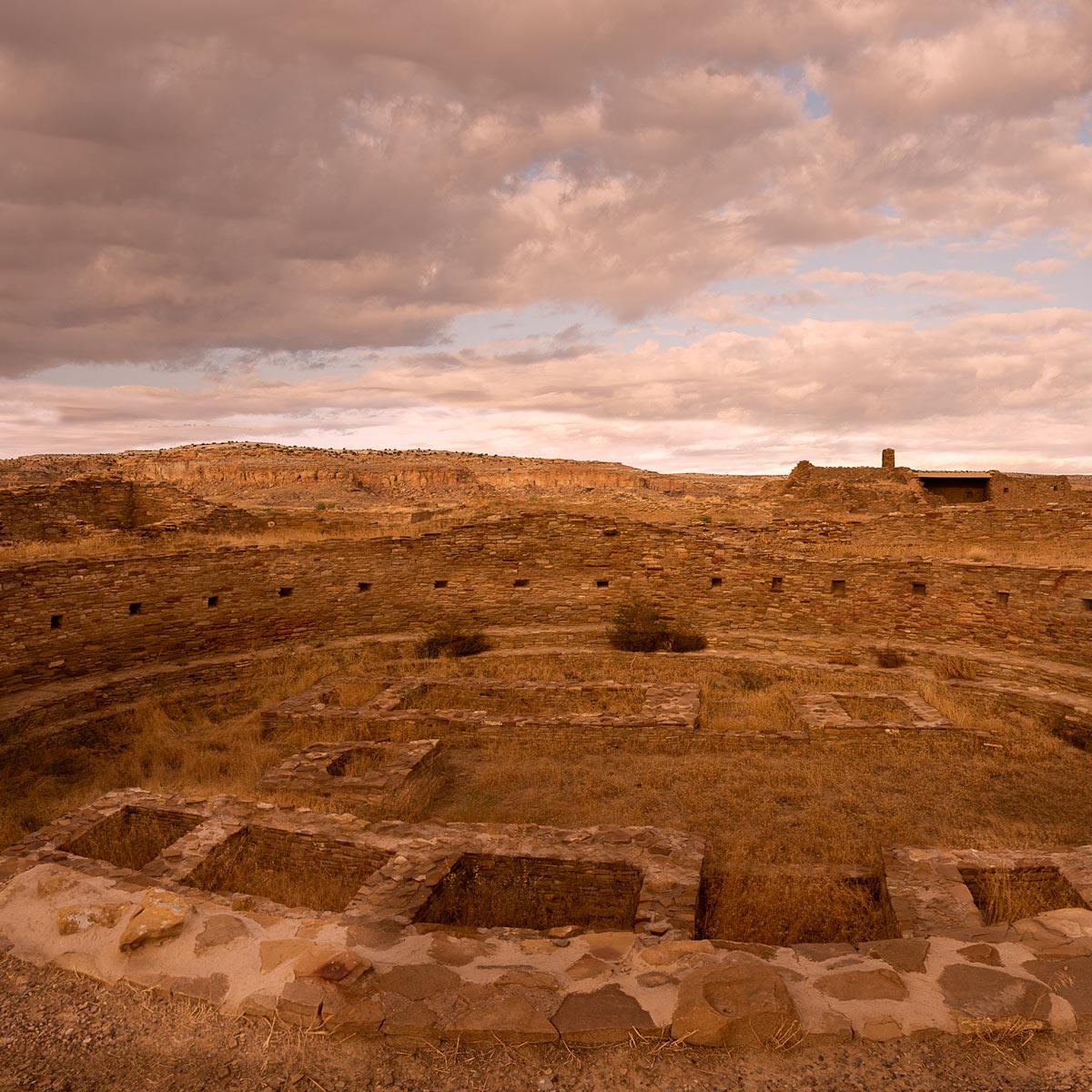 Kiva Ruins, Chaco Canyon