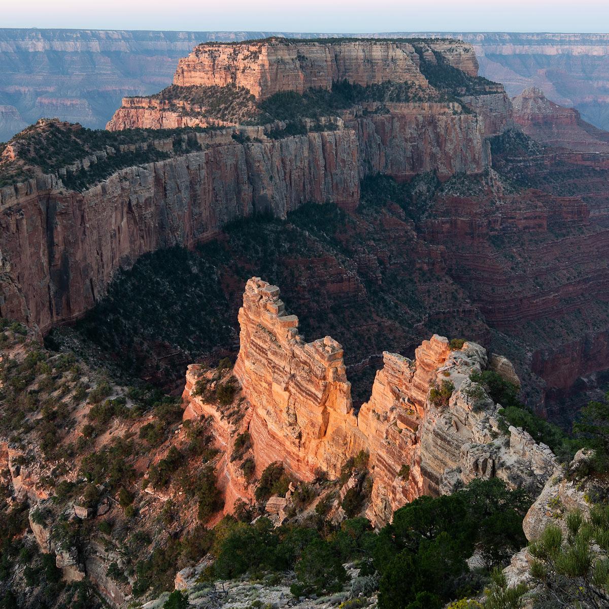 Wotans Throne Cape Royal North Rim Grand Canyon Arizona